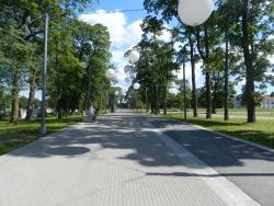 1. Jõhvi jalakäijate promenaad, klinker-, ääre-, ja tänavakivi paigaldus.JPG